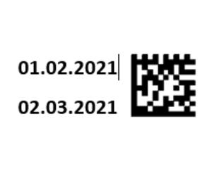 Нанесение 2D кодов на упаковку продукции