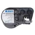 Самоклеящаяся лента Brady MC1-1000-595-BL-WT, универсальный винил, печать белая на синем, 25,4 мм * 7,62 м, в картридже 7,62 м (BMP41/51/53)