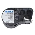 Лента самоклеящаяся для bmp41 / 51 / 53 Brady mc1-1000-422,печать в картридже bmp41 / 51 / 53, белый,черным, 25.4x7620 мм, 7.62 м, Полиэстер