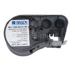 Лента самоклеящаяся для bmp41 / 51 / 53 Brady mc1-1000-595-cl-wt,универсальный печать на в картридже bmp41 / 51 / 53, белая,прозрачном, 25.4x6100 мм, 6.1 м, Винил