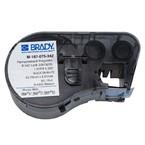 Термоусаживаемые маркеры Brady M-187-075-342, 19,05 * 8,50 мм, белые, печать черная, диаметр 2,8 мм, в картриджи 80 шт. (BMP41/51/53)