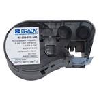Термоусаживаемые маркеры Brady M-250-075-342, 19,05 * 11,15 мм, белые, печать черная, диаметр 2,8 мм, в картриджи 80 шт. (BMP41/51/53)