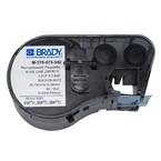 Термоусаживаемые маркеры Brady M-375-075-342, 19,05 * 16,38 мм, белые, печать черная, диаметр 2,8 мм, в картриджи 80 шт. (BMP41/51/53)