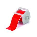 Виниловая лента Brady B-595 для принтера Globalmark, красная, 100 мм * 30 м