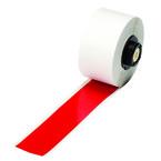 Промышленная лента Brady B-595, винил высокого качества, красная, для принтера Handimark, 25 мм * 15 м