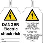Бирка безопасности do not touch Brady бирки,. в упаковке, 145x85 мм, ПВХ, 10 шт