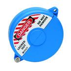 Блокираторы затворных вентилей раздвижной Brady блокиратор, синий, 127 мм