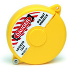 Блокираторы затворных вентилей раздвижной Brady блокиратор, желтый, 127 мм