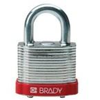 Замки стальные Brady цвет бампера, зеленый, 7 мм, 38 мм, Устойчив к низкой температуре, 1, 6 шт