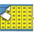 Термоусадочный маркер Brady 3PS-187-2-OR-S-4, 12,7 × 8,5 мм, 2000 шт. в рулоне