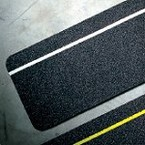 Ленты антискольжения вырубленные накладки Brady, черные, 19x600 мм, 50 шт