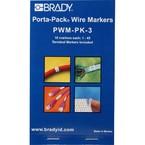 Маркеры кабельные Brady pwm-pk-3