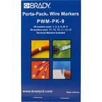 Маркеры кабельные Brady pwm-pk-9