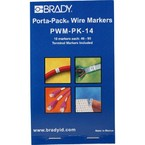 Маркеры кабельные Brady pwm-pk-14