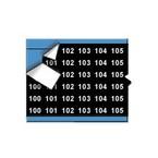 Маркеры кабельные Brady wm-100-124-bk