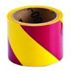 Лента маркировочная напольная Brady прочная для разметки,желто- 1, розовая, 75x16500 мм, b-950, Самоклеющийся, Винил, Рулон