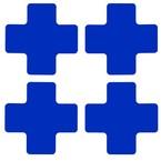 Разделитель перекрестка/обозначение центра (форма +), материал B-514, 127 × 50,8 мм, синие, 20 шт. в упаковке