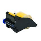 Система LabelizerPlus/VersaPrinter, материал B-595, 76 мм, черный-желтый, в рулоне 27 м