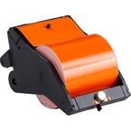 Система LabelizerPlus/VersaPrinter, материал B-595, 100 мм, черный-оранжевый, в рулоне 27 м