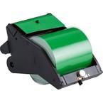 Система LabelizerPlus/VersaPrinter, материал B-595, 100 мм, черный-зеленый, в рулоне 27 м