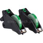 Система маркировочная, виниловая LabelizerPlus / VersaPrinter Brady 13 мм, зеленый,white, 27 м, b-595, 2 шт, Рулон
