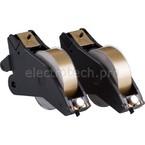 Система маркировочная, виниловая LabelizerPlus / VersaPrinter Brady 29 мм, светло-коричневый,white, 27 м, b-595, 2 шт, Рулон