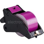 Система маркировочная, виниловая LabelizerPlus / VersaPrinter Brady 57 мм, фиолетовый,white, 27 м, b-595, Рулон