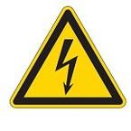 Знак безопасности предупреждающий высокая температура поверхности Brady 100 мм, b-7541, Ламинация, pic 315, Полиэстер, 250 шт
