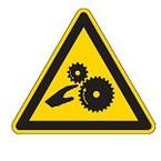 """Знак маркировки грузов Brady ADR 1.5 """"Категория опасности 1.5"""", B-7541 ламинированный полиэстер, сторона 100 мм, 1 шт."""