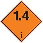 """Знак маркировки грузов Brady ADR 3B """"Легковоспламеняющяяся жидкость"""", B-7525 алюминиевая пластина, сторона 297 мм, 1 шт."""
