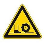Знаки безопасности пожарные Brady 25 мм, b-7541, Ламинация, pic 481, Полиэстер, 250 шт