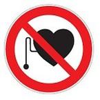 Знак безопасности запрещающий запрещение (прочие опасности или опасные действия) Brady 50 мм, b-7541, Ламинация, pic 234, Полиэстер, 250 шт
