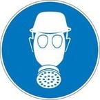 Знак безопасности предписывающий курить здесь Brady 100 мм, b-7541, Ламинация, pic 275, Полиэстер, 250 шт