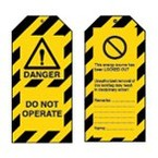 Стойка предупреждающая пластиковая Brady надпись «chemical spill», желтый,красно,черная, 660 мм