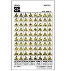 Держатель для знаков коридорный Brady, 300x151 мм, Пластик, 1 шт