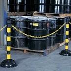 Запасная основа для столбика заграждения, черная, 1 шт.