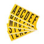 Буквы на карте Brady букв 25 карт /,материал в-946, Комплект, 6 шт