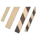 Полоски предупреждающие фотолюминесцентные Brady фотолюминесцентный / правые, черный, 60x1000 мм, Алюминий, 1 шт