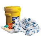 Комплект для сбора проливов масла Brady SPC sko-20, 12 салфеток (spc813869)