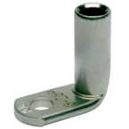 Медный нелуженый наконечник Klauke 165R8BK, угловой — 90° DIN 35 мм² М8