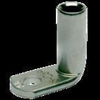 Медный нелуженый наконечник Klauke 166R10BK, угловой — 90° DIN 50 мм² М10