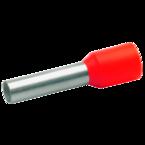 Втулочный изолированный наконечник Klauke 17410, 4 мм², длина втулки 10 мм, цветной ряд 2, оранжевый