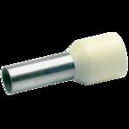 Втулочный изолированный наконечник Klauke 176E, 10 мм², длина втулки 12 мм, цветной ряд 1, серый