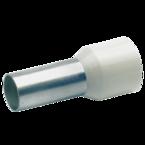 Втулочный изолированный наконечник Klauke 17712, 16 мм², длина втулки 12 мм, цветной ряд 2, серый