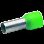 Втулочный изолированный наконечник Klauke 177GR, 16 мм², длина втулки 12 мм, цветной ряд 1, зелёный