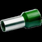 Втулочный изолированный наконечник Klauke 180OL, 50 мм², длина втулки 25 мм, цветной ряд 1, оливковый