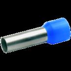 Втулочный изолированный наконечник Klauke 47718, 16 мм², длина втулки 18 мм, голубой