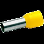 Втулочный изолированный наконечник Klauke 47818, 25 мм², длина втулки 18 мм, жёлтый