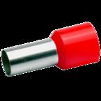 Втулочный изолированный наконечник Klauke 47918, 35 мм², длина втулки 18 мм, красный