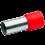 Втулочный изолированный наконечник Klauke 48225, 95 мм², длина втулки 25 мм, красный